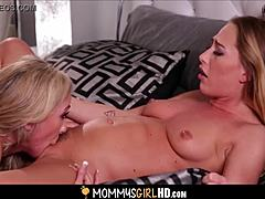Mom stepmom brandi adore and juvenile daughter carter sightseeing orgasms